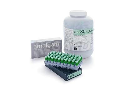 Амальгама GS80 3 SPILL REG экономичный cмешаный cплав non-gramma 3 дозы 800 мг (40% cеpебpа)