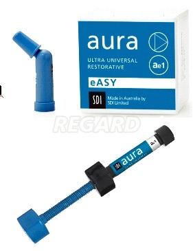 AURA EASY SYR универсальный композит, шприц 4 г. Цвет: AE4, (A3, 5B4)