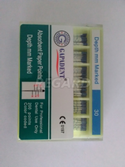 Штифты бумажные ( 200 шт ) пенал. т. ISO с маркировкой длины