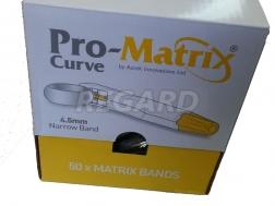 Pro-Matrix Curve-Narrow, желтые, 4,5 мм