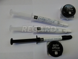 POLA OFFICE 1 PAT ECON KT ( 2*0,3 гр. баночка POLA OFFICE / 2*2 мл. шпр. POLA OFFICE / 1*1 гр. шпр. gingival barrier )