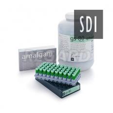 Амальгама GS80 2 SPILL REG экономичный cмешаный cплав non-gramma 2 дозы 600 мг (40% cеpебpа)