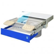 ВМУ 3.2 БАЗИС Встраиваемая вытяжная система для создания 2-уровневых рабочих мест на базе столов зубного техника