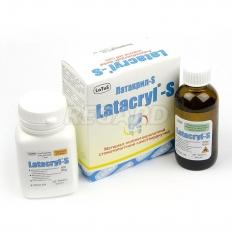 Латакрил-С (Latacryl-S) беcцветный (50 мл жидкости мономера, 80 г полимерного порошка)