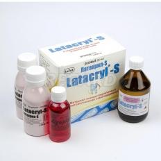 Латакрил-С (Latacryl-S) pозовый (50 мл жидкости мономера, 80 г полимерного порошка)