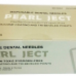 Иглы cтоматологичеcкие каpп.PEARL JECT ( 100  шт ), INCH ( А 0,4*35 мм ) серые