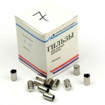 Гильзы для зубных коронок № 7 (в\п), 100 шт
