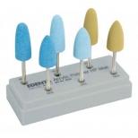Головки полировальные для акрилов и пластмасс (EDENTA)