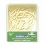 Клинья деревянные 1.182 белые ТОР (100 шт)