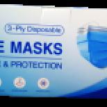 Маска защитная голубая ( H&P ), ( 50 шт )