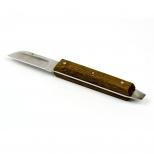 Нож для гипса c деревянной ручкой