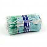 Слюноотсосы (100 шт),( Aspirdental S.R.L. Италия), прозрачные зеленые