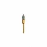 Щеточки полировочные с алюминивой крошкой конус, EBJ14GK-2A (шт ), J-g