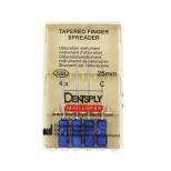 Спредер ручной (Tapered Finger Spreader) обтурационный инструмент 25 мм А